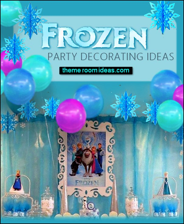 Snowflake Party Decoration  Frozen themed birthday party ideas - Disney Princess Costumes - Disney Frozen Party Supplies Elsa, Anna, Olaf  - Disney Frozen theme - Frozen Birthday Invitations - frozen party supplies winter wonderland theme - snowflake themed birthday party - frozen costume - Frozen costumes - Frozen Elsa costumes -