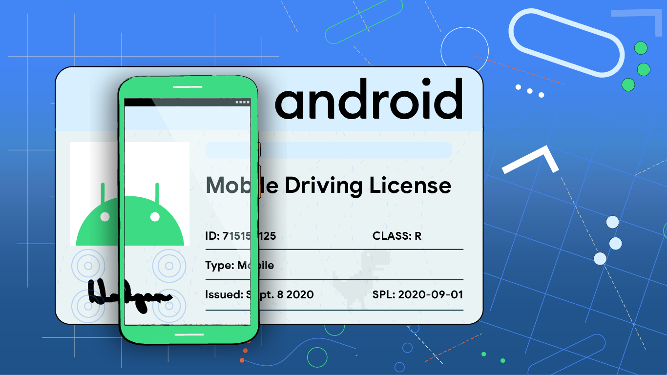 Android Mobible Driver's license app
