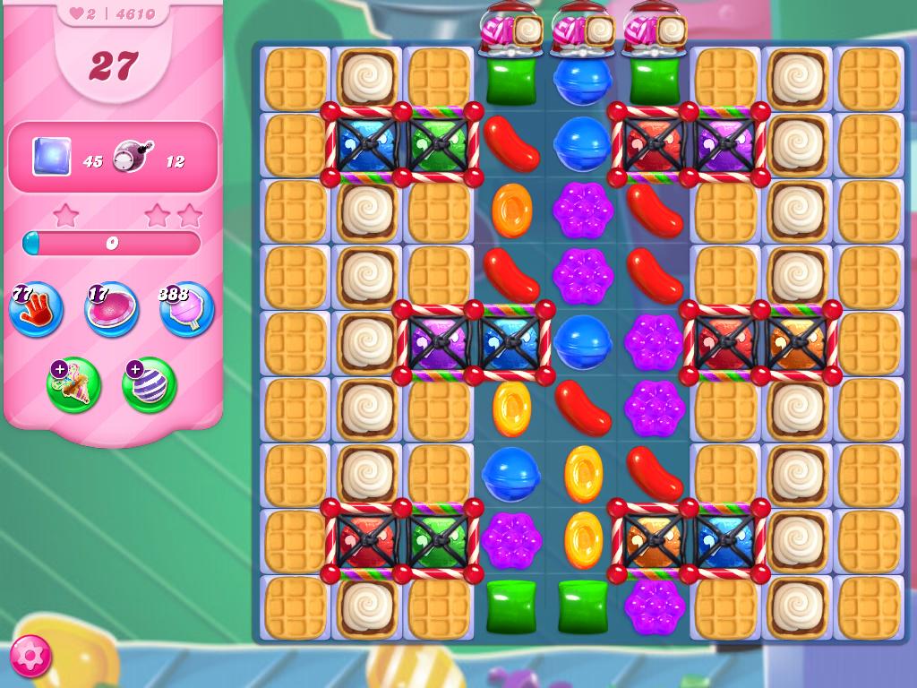 Candy Crush Saga level 4610