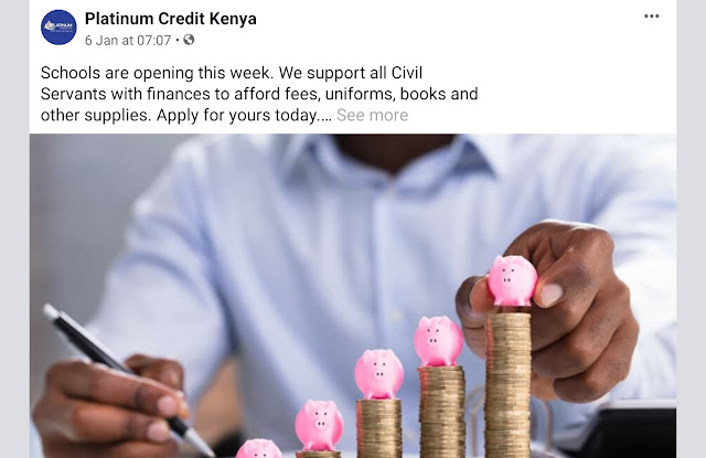 Platinum Credit Limited  Kenya