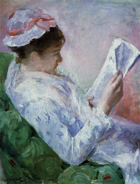 Мэри Кассат Читающая женщина