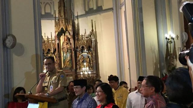 Izinkan Paskah di Monas, Anies Baswedan dapat 'Jatah' Beri Sambutan