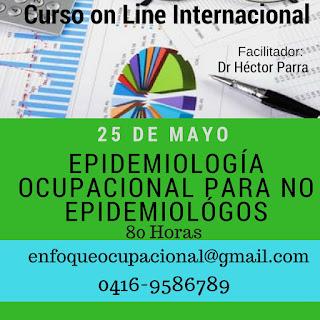 Curso Epidemiologia Ocupacional on line,
