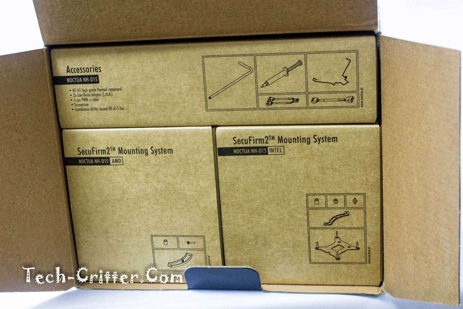 Unboxing & Review: Noctua NH-D15 89