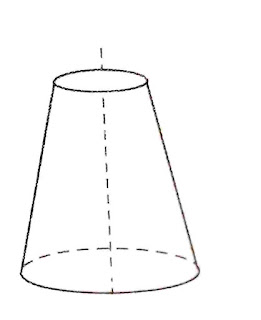 Conical draft tube