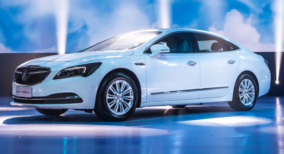 Buick LaCrosse Hybrid Could Come To The U.S. - Types cars