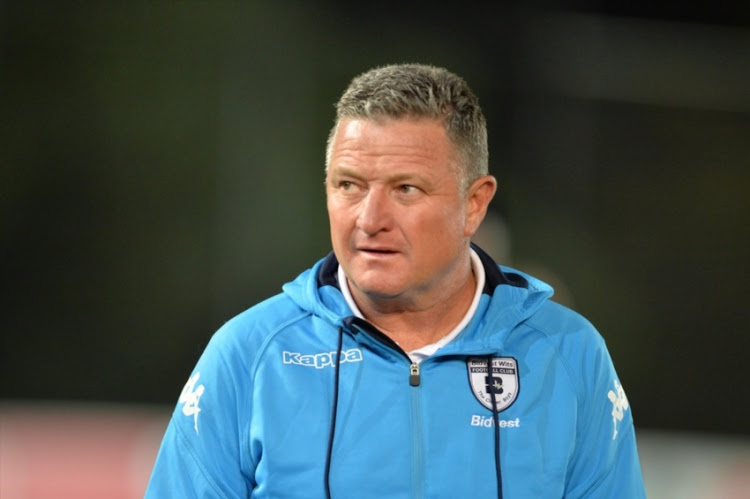 Bidvest Wits head coach Gavin Hunt