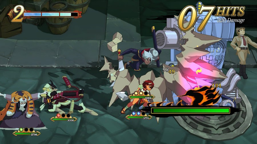 indivisible real time combat sequences pc ps4 xb1 lab zero 505 games