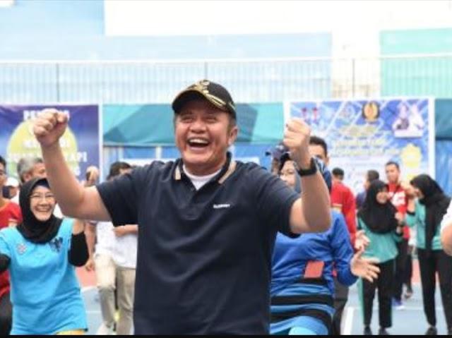 Gubernur Herman Deru Buka Kejurnas Tenis Kajari Cup 2019