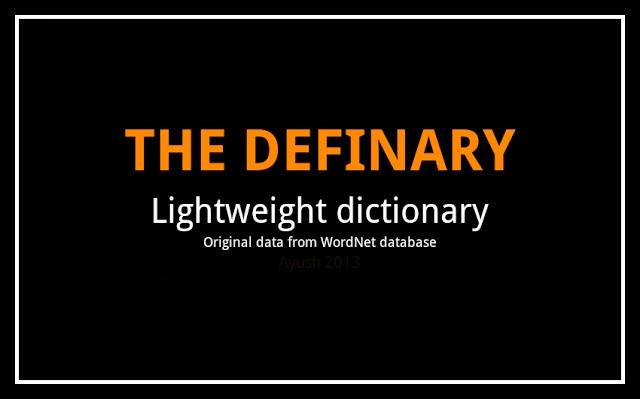 Definary | Ayush Subedi