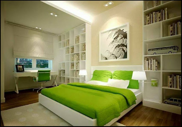 2. colorful bedroom
