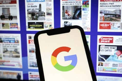 Google faces a fine of 593 million dollars in France