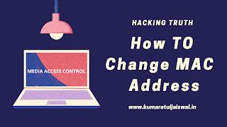 How To Change MAC Address