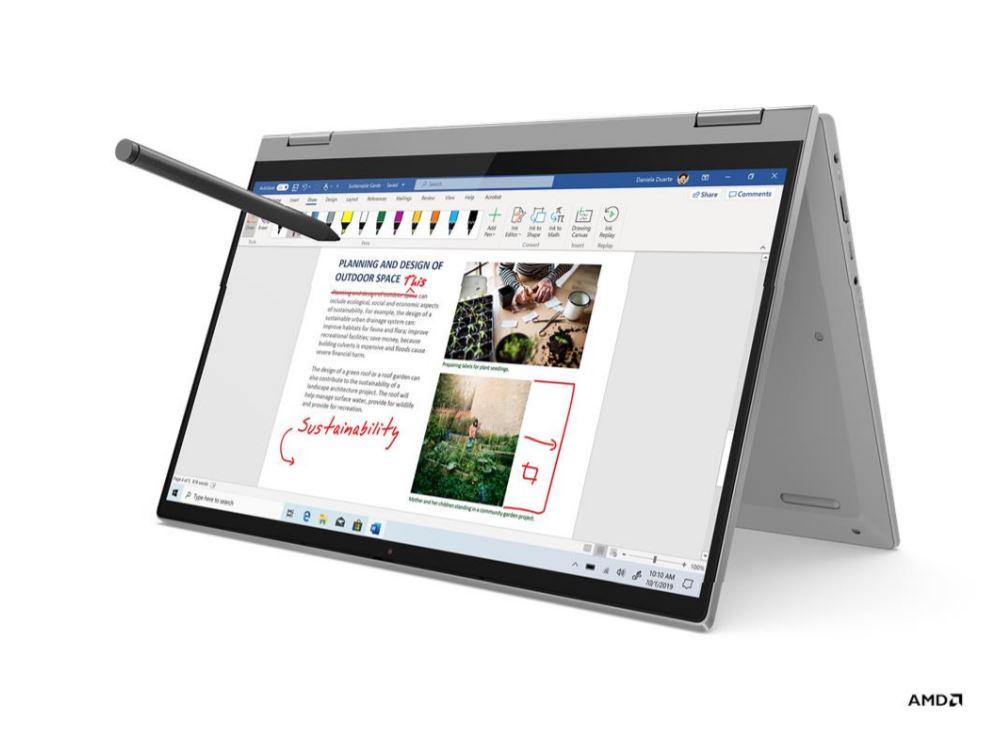 Laptop Hybrid Lenovo IdeaPad Flex 5 EEID Terjangkau Bertanaga Ryzen 3 4300U