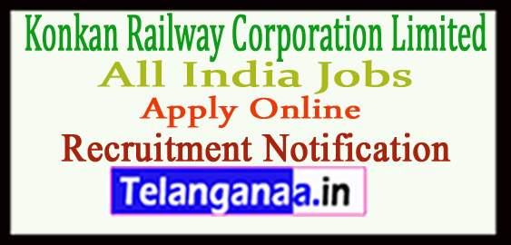Konkan Railway Corporation Limited KRCL Recruitment Notification 2017 Apply
