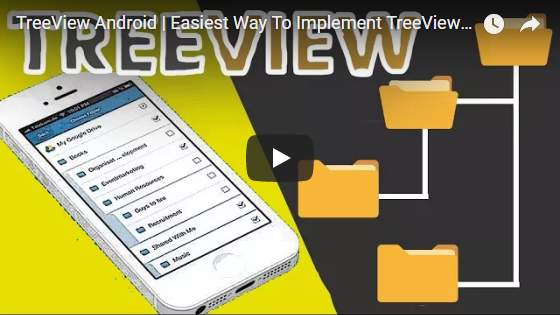 How To Make TreeView In Android (Expandable List View in
