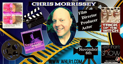 Chris Morrissey actor director filmmaker on The Keith Harris Show