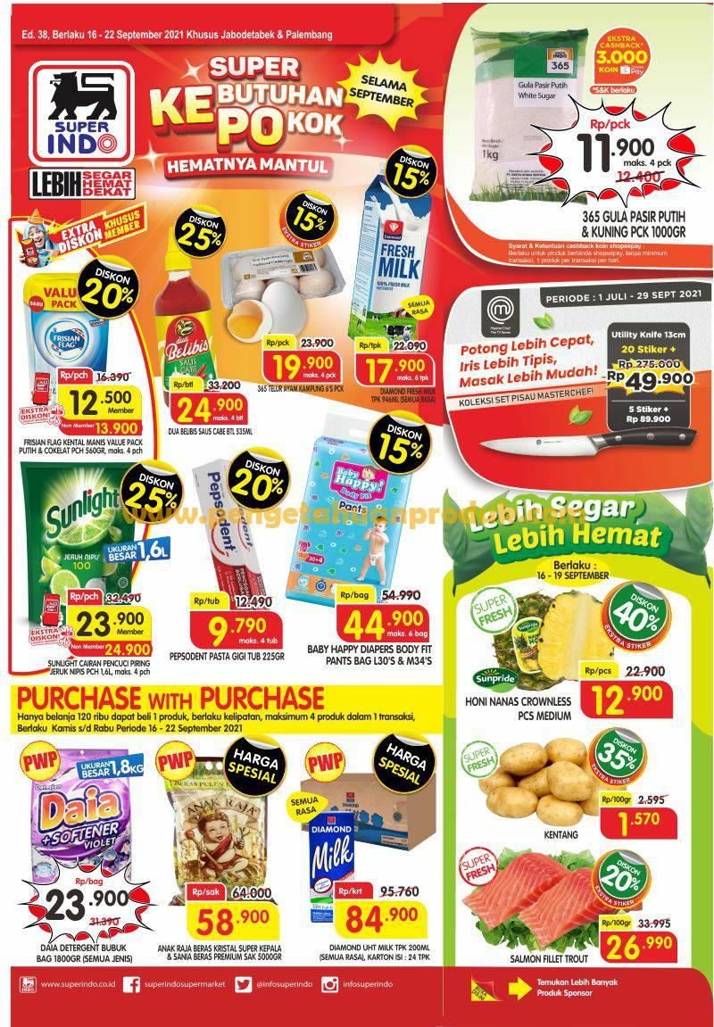 Katalog Promo Superindo Periode 16-22 September 2021