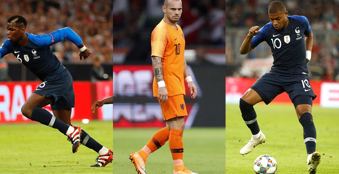 size 40 8fd1c b3c32 Depay, Mbappe, Sneijder, Pogba and Co. Debut Special Edition ...