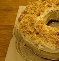 Photograph of the carrot cake