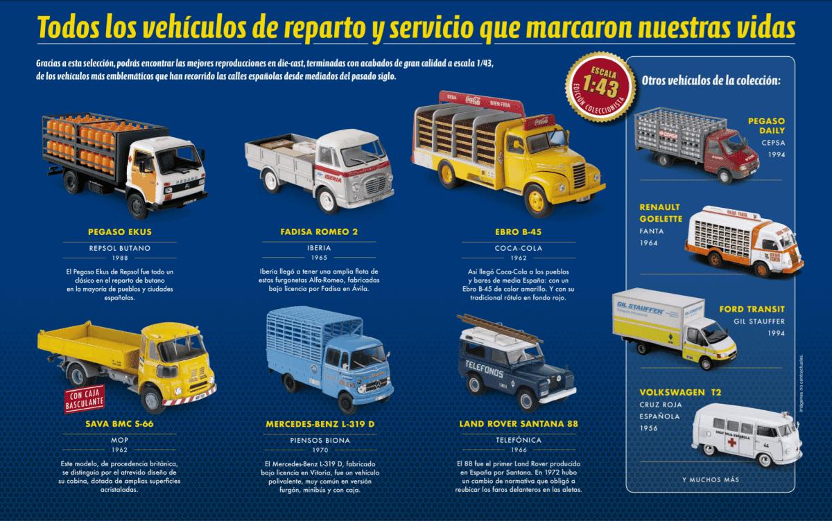 Colecciones Chéveres Vehículos De Reparto Y Servicio 1 43 Salvat España