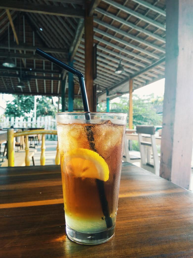 Lemon Tea Iced, Pasta Gio Jogja