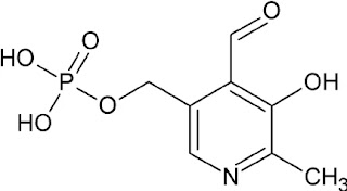 Structure of vitamin B6