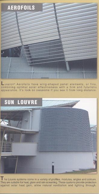 Louvre Alumunium : LUXALON