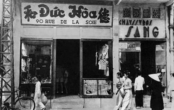 Hà Nội xưa - phố Hàng Đào