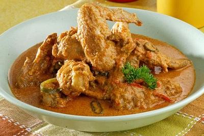 Resep Sayap Ayam Masak Santan