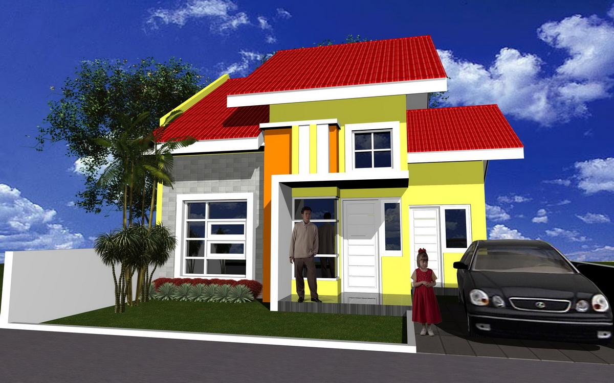 67 Design Cat Rumah Minimalis Warna Merah Desain Rumah Minimalis