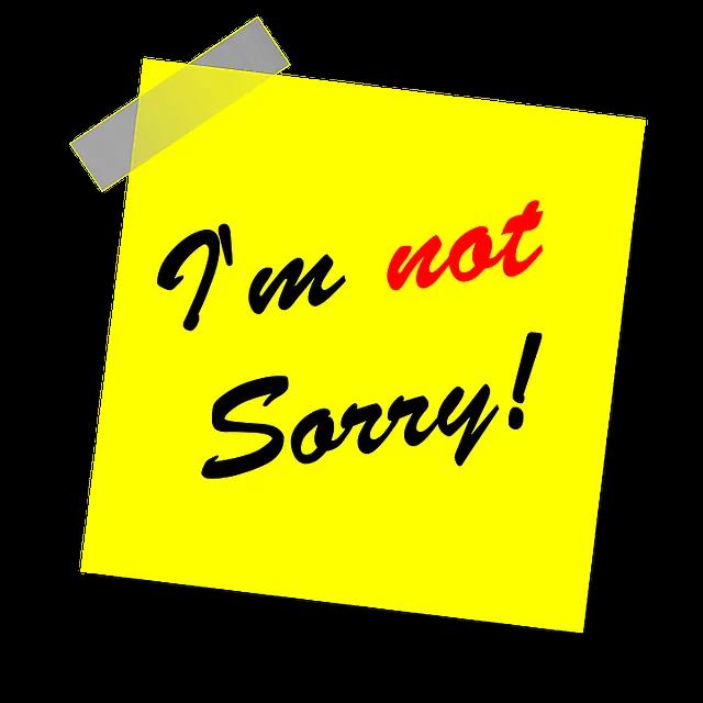 i am sot sorry