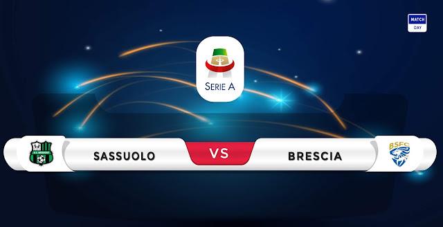 Sassuolo vs Brescia Prediction & Match Preview