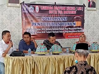 LBH Butta Toa Bantaeng Sosialisasi Bantuan Hukum Gratis di Dua Dusun