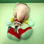Amy stuffed toy back