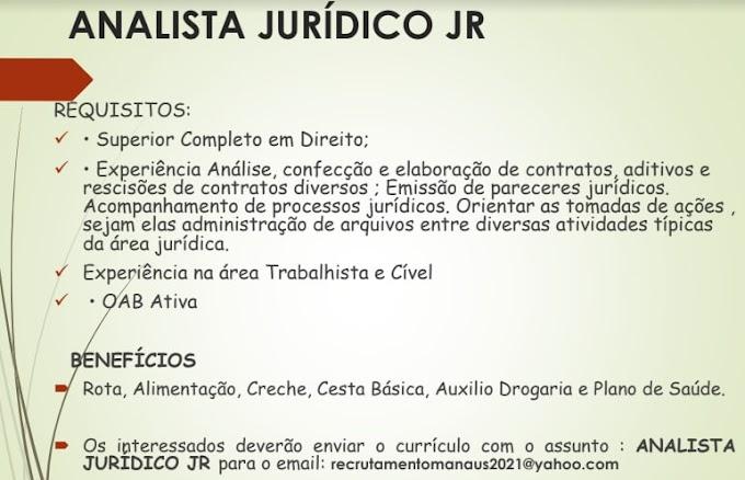 ANALISTA JURÍDICO