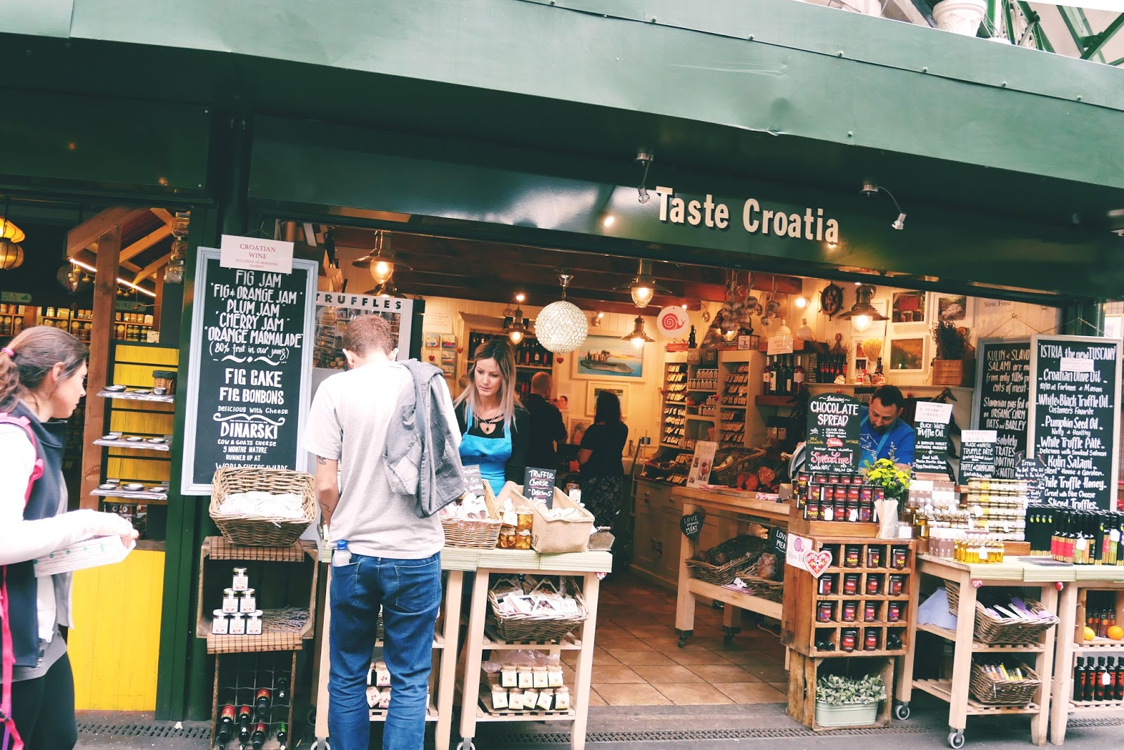 Taste Croatia, Borough Market, London