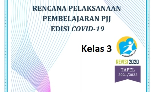 RPP Daring Kelas 3 SD Kurikulum 2013