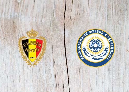 Belgium vs Kazakhstan - Highlights 8 June 2019