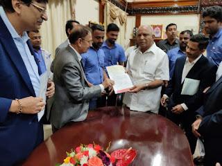 Toyota Kirloskar Motor's Karnataka Chief Minister's Relief Fund