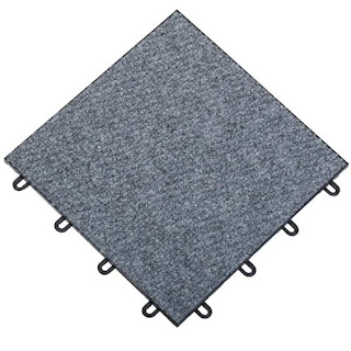 Greatmats carpetflex carpet interlocking snap together tiles basement