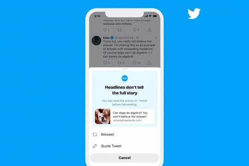 Twitter plans to provide all users with the capabilities to read Retweet in advance