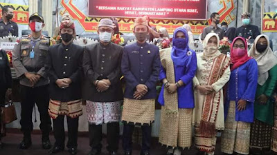 DPRD Gelar Rapat Paripurna Istimewa Dalam Rangka HUT Kab.Lampung Utara Ke-74.