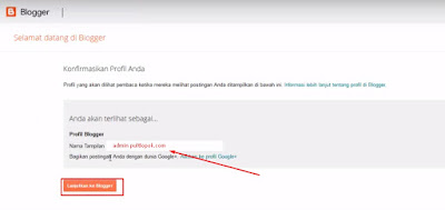Memindahkan akun Google Plus ke Akun Blogger
