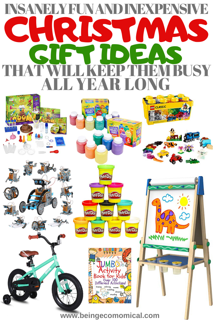 Inexpensive Christmas Gift Ideas That Will Keep The Kids ...
