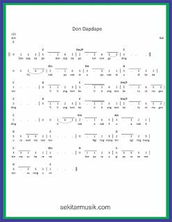 not angka don dapdape lagu daerah bali