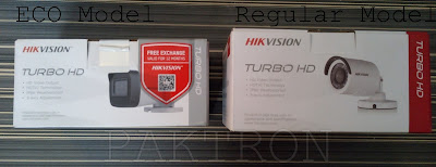 Hikvision Original Vs ECO Model