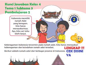 Kunci Jawaban Kelas 4 Tema 1 Subtema 3 Pembelajaran 2 www.simplenews.me