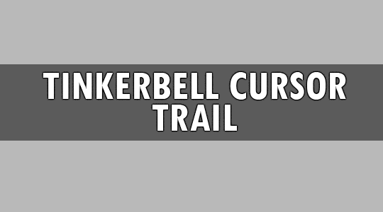 tinkerbell cursor trail html @ One pot pseudoephedrine