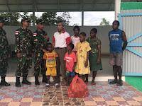 Berkat Bantuan Satgas Pamtas Yonif 126/KC Anak-Anak Panti Asuhan Syalom Dapat Belajar Di Aula
